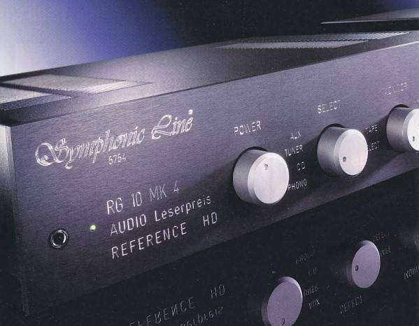 Symphonic Line RG10 MK4 Reference HD Master with power ...