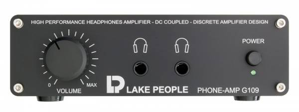 Lake People Stereo Headphones Amplifier G109-P